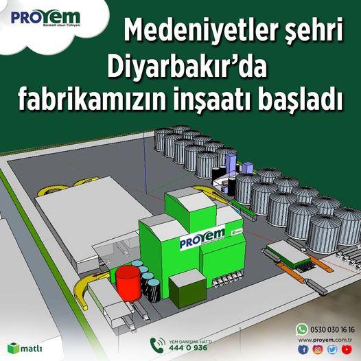 Medeniyetler Şehri Diyarbakır'da Fabrika İnşaatımız Başladı