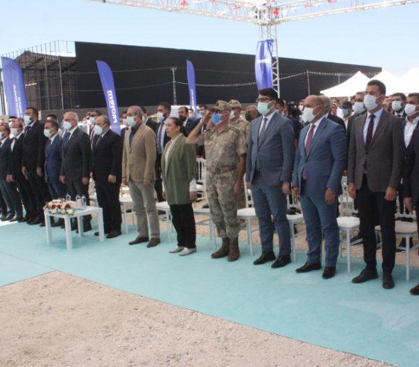 Proyem Diyarbakır Fabrikasının Temel Atma Töreni Gerçekleşti